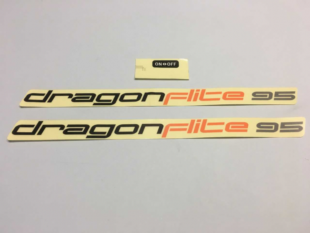 DF95 Hull decals set
